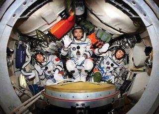 Shenzhou7crew