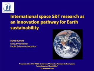 Burnett_PISCES2012_SS&T_for_Earth